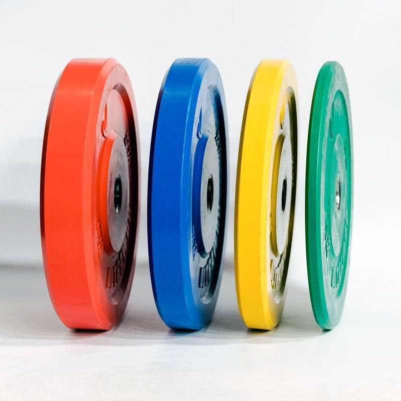 Anilhas Bumper Plate Color - Padrão Estúdio