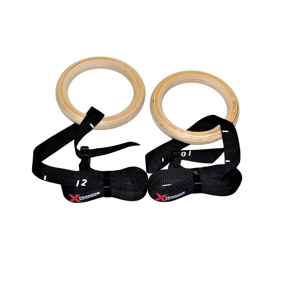 Argola Olimpica CrossFit de Suspensão - X-Training  - ULTRAWOD