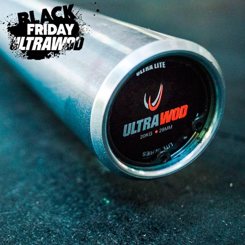 Barra Olimpica 20Kg Crossfit UltraWod Lite Series Masculina