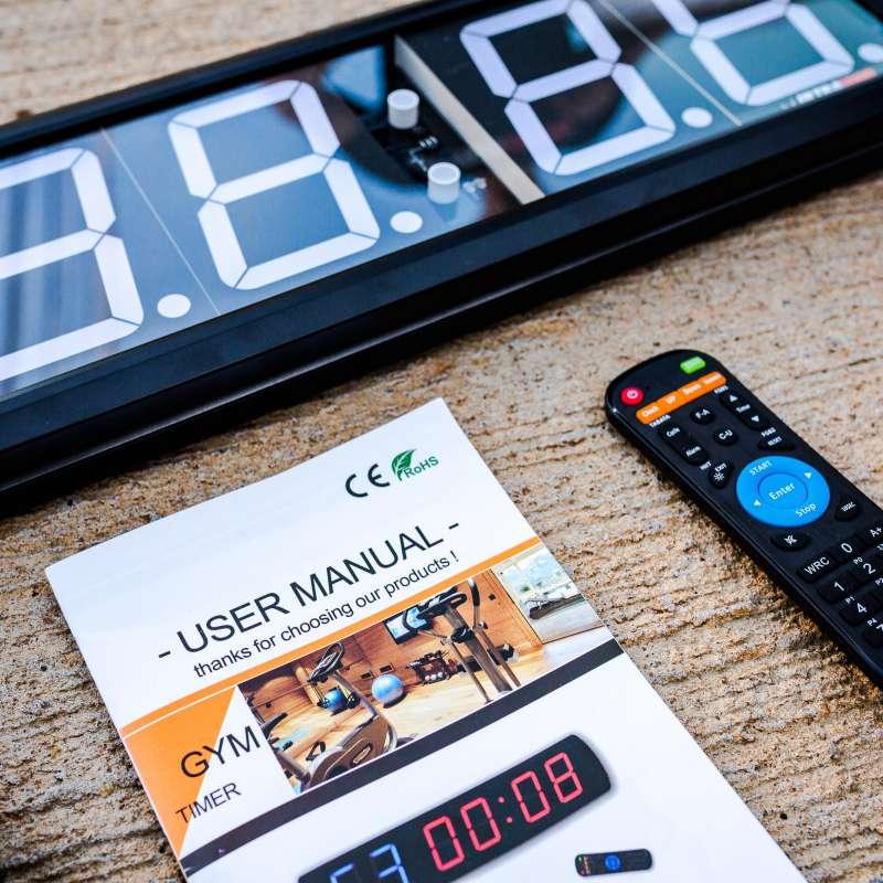 Cronometro Digital de Parede Wall-Timer UltraWod