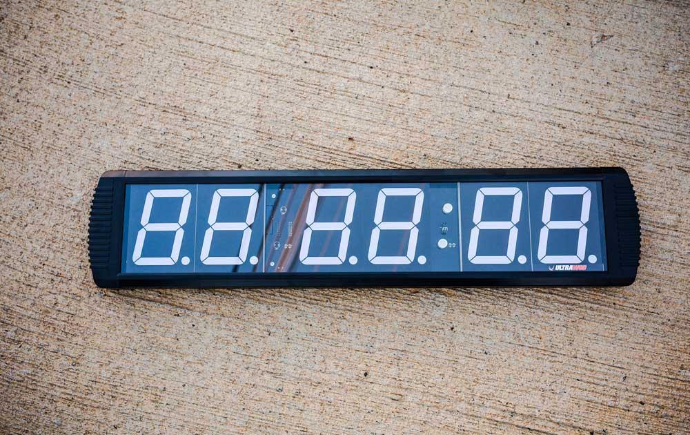 Cronometro Digital de Parede Wall-Timer UltraWod  - ULTRAWOD