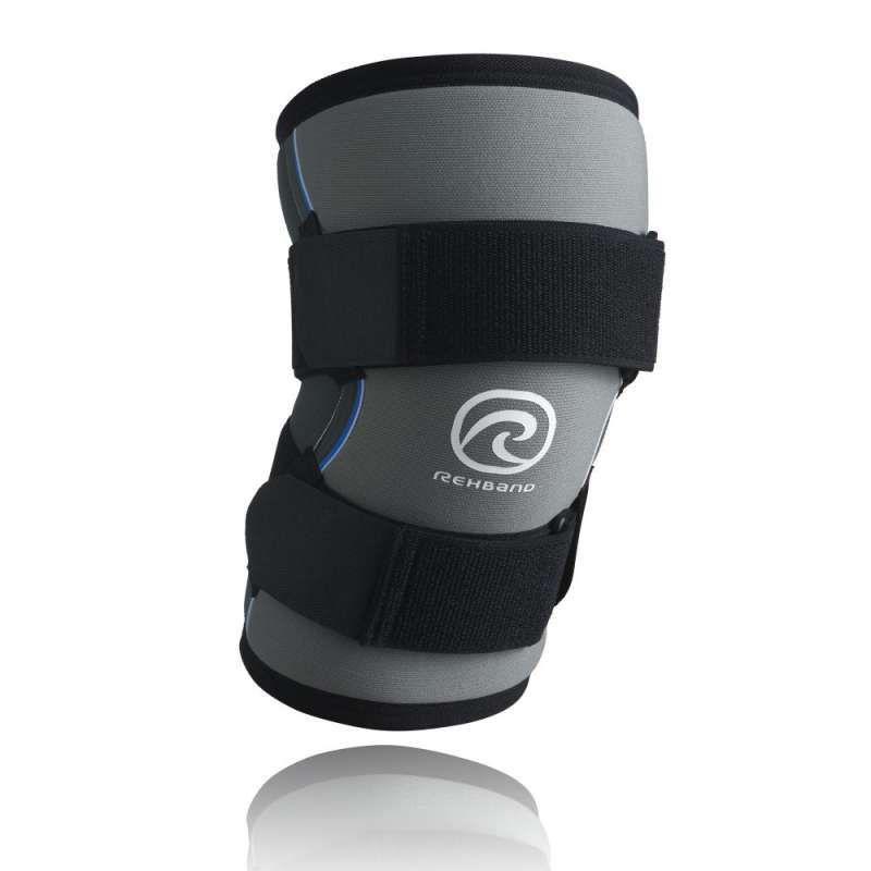 Joelheira 7mm Cinza Rehband  Strongman - Unidade