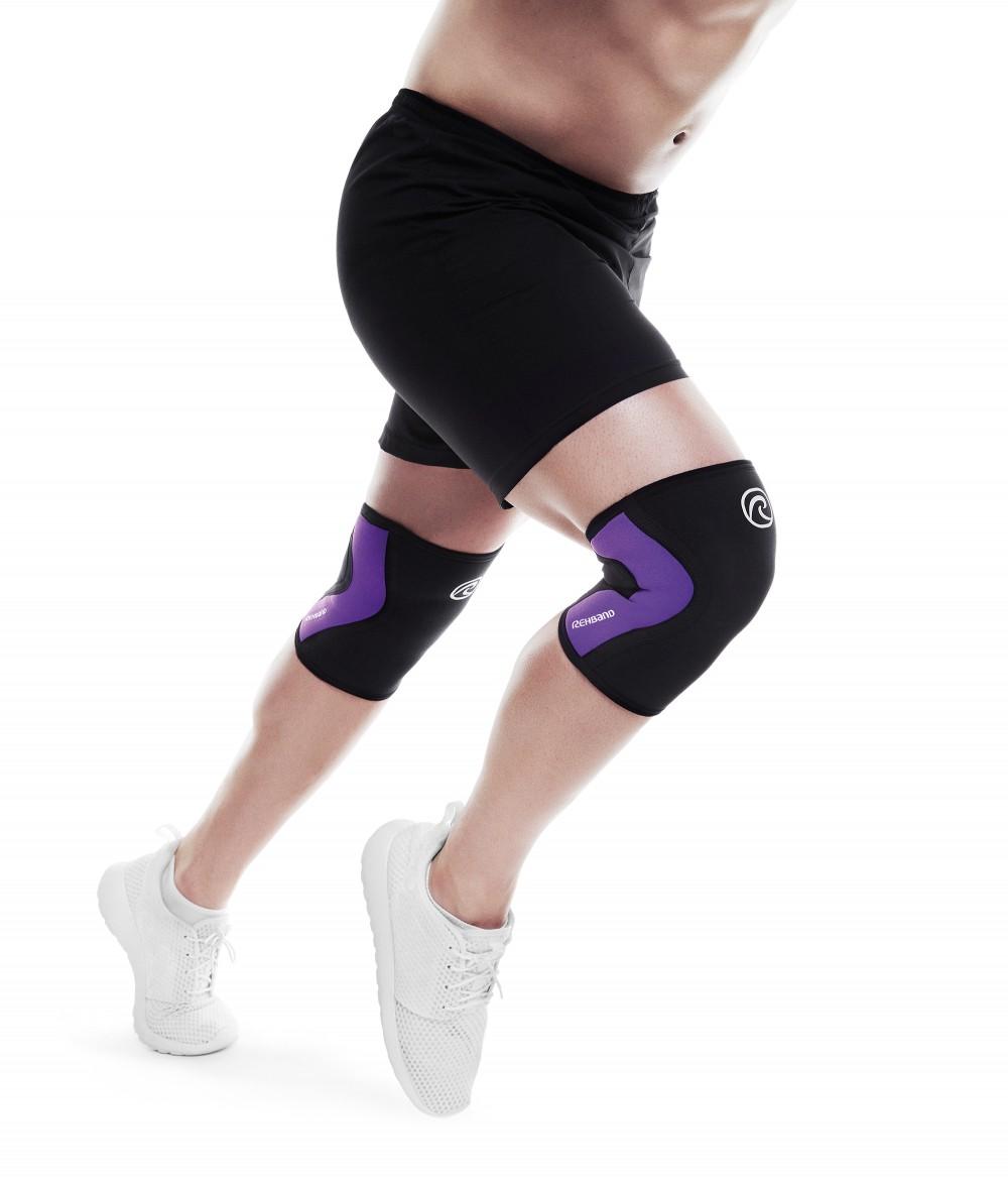 Joelheira Rehband Para CrossFit 3mm Roxo - Unidade  - ULTRAWOD