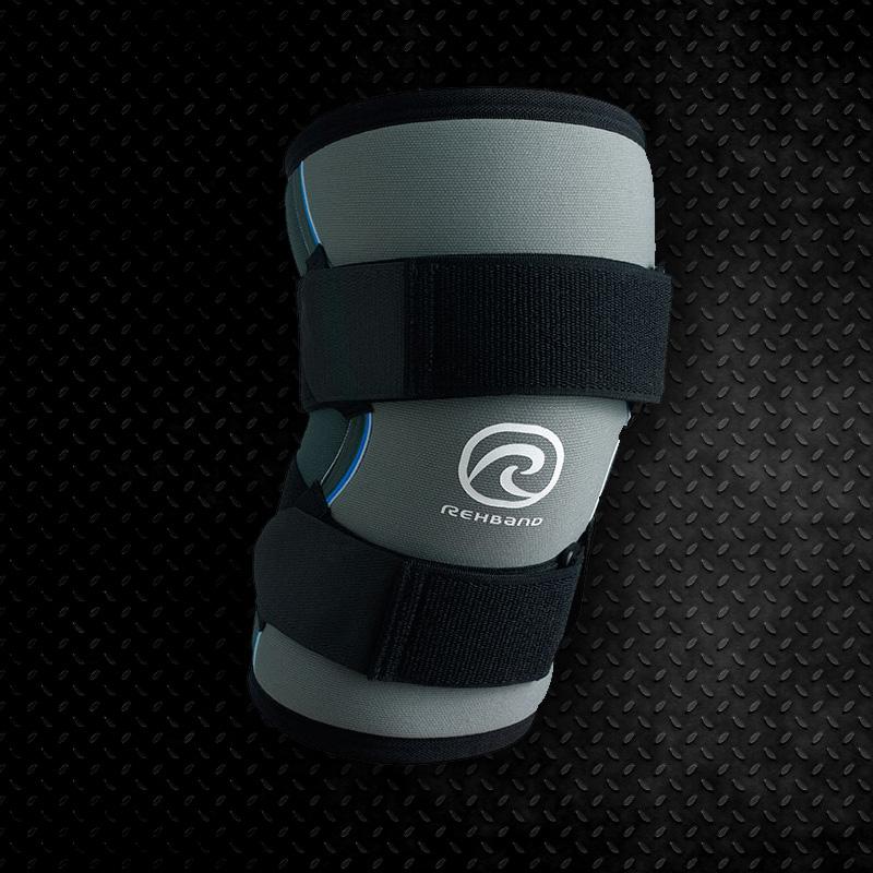 Joelheira Rehband 7mm Cinza Strongman - Unidade