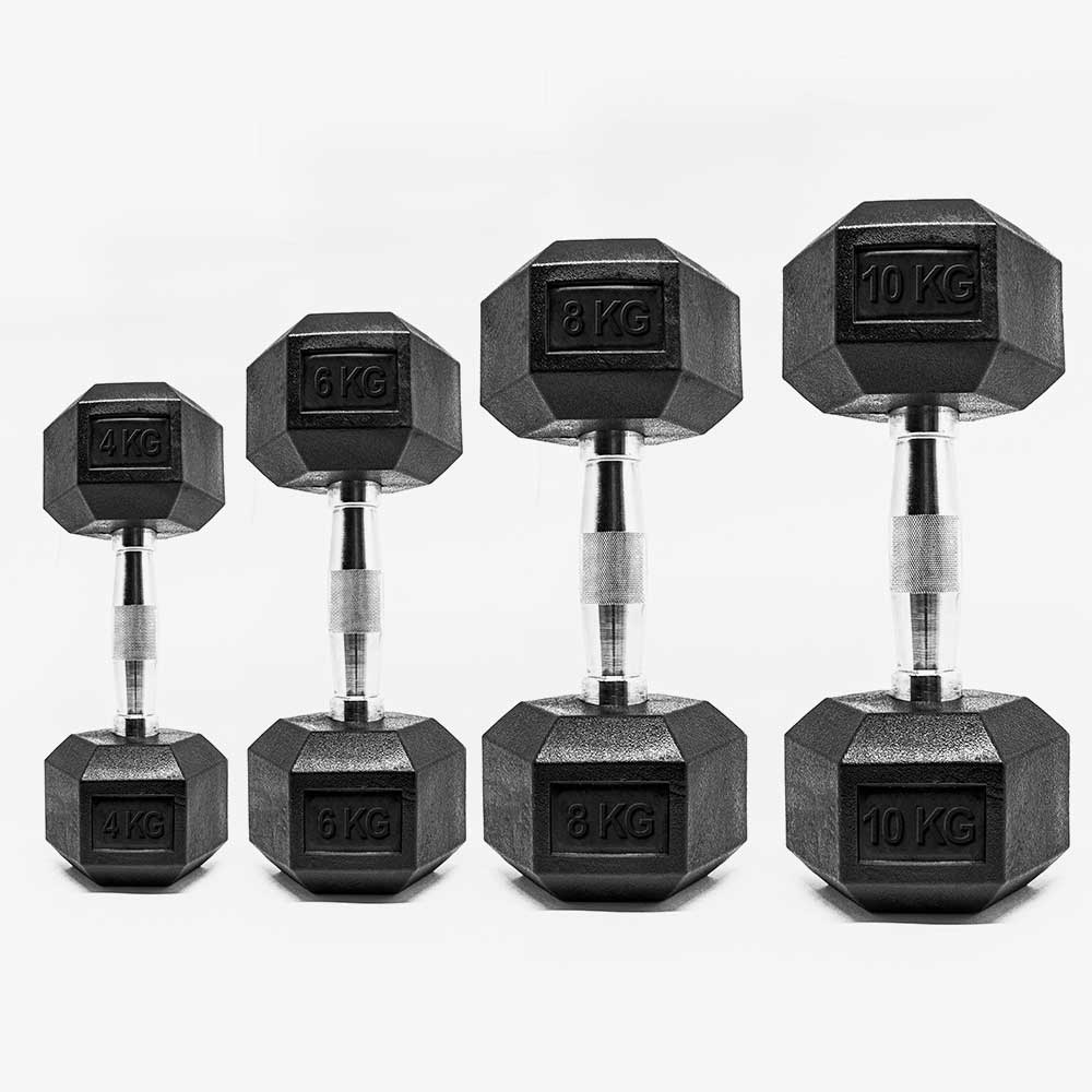 Kit Dumbbells Halteres 04KG a 10KG UltraWod - Pares