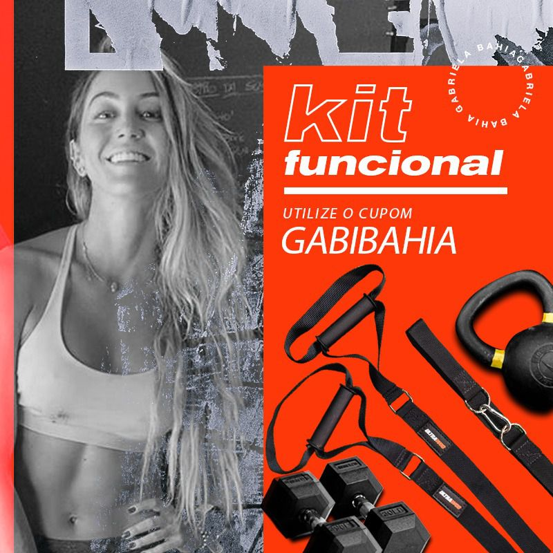 Kit Funcional Gabriela Bahia UltraWod