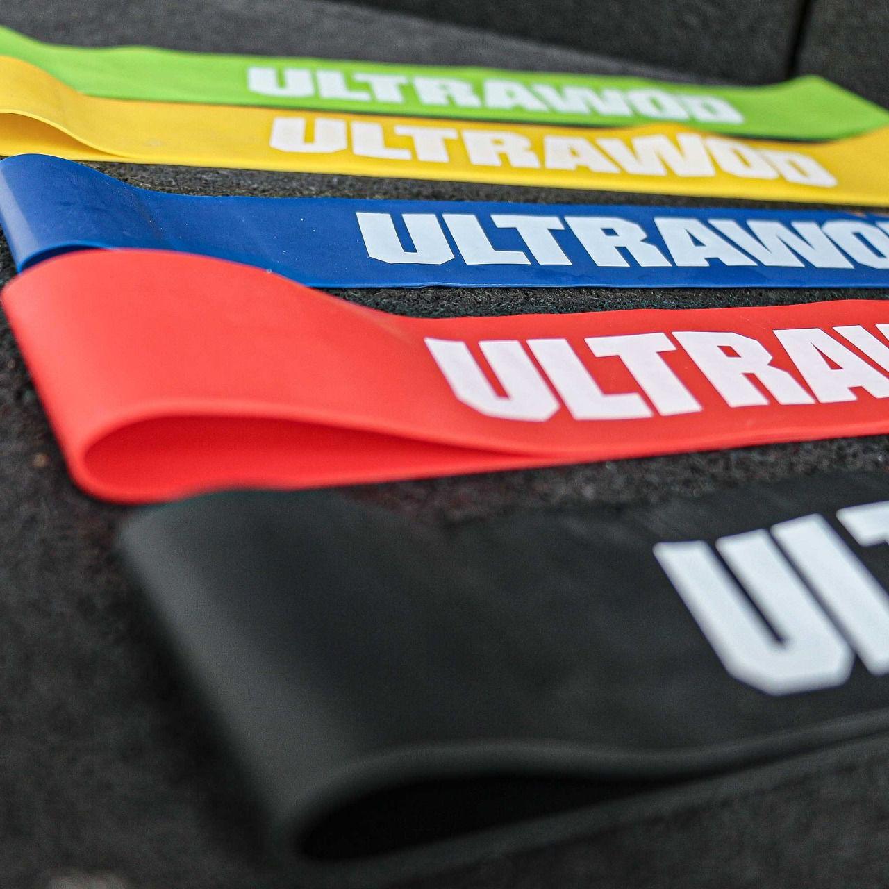 Mini Bands Faixa Elástica UltraWod - Kit
