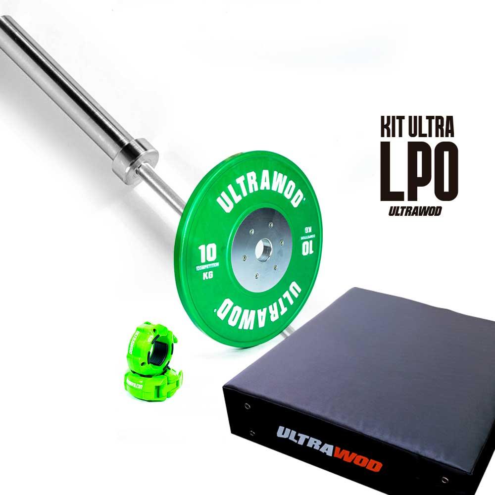 Kit para Treino em Casa Cross Training LPO UltraWod - 4 itens