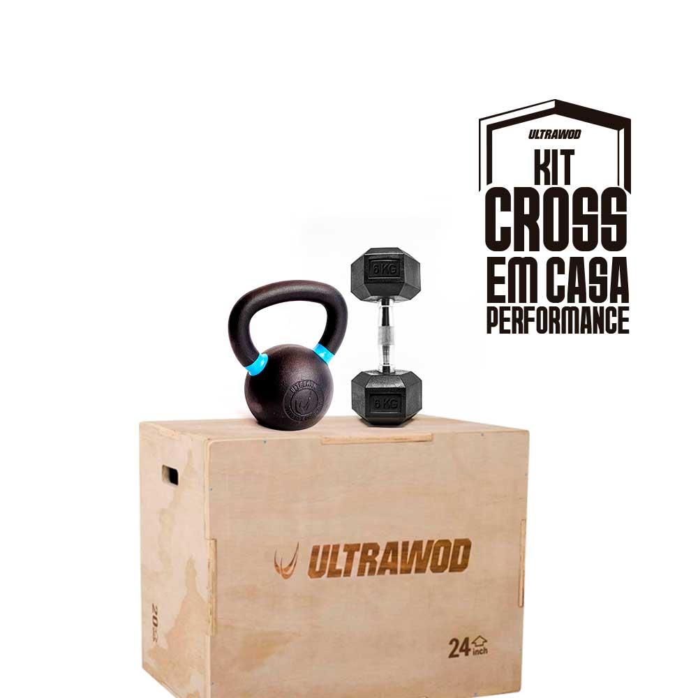 Kit para Treino em Casa Cross Training Performance UltraWod - 3 itens