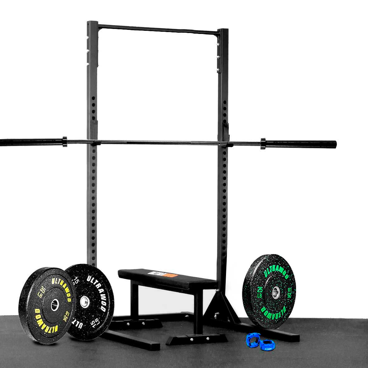 Kit para Treino em Casa Cross Training Performance UltraWod - 7 itens
