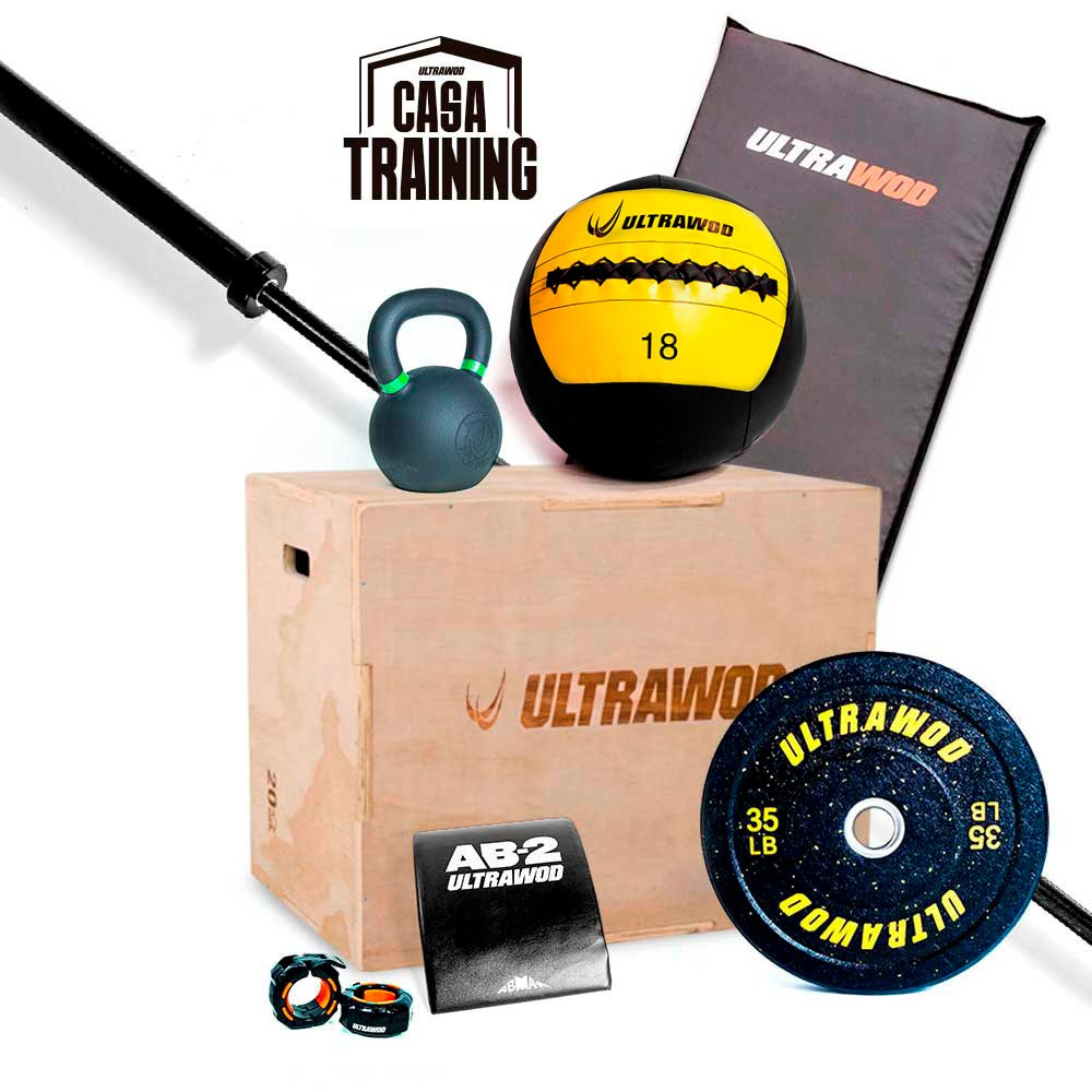 Kit para Treino em Casa Cross Training Performance UltraWod - 8 itens