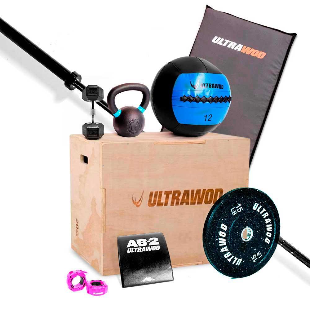 Kit para Treino em Casa Cross Training Performance UltraWod - 9 itens