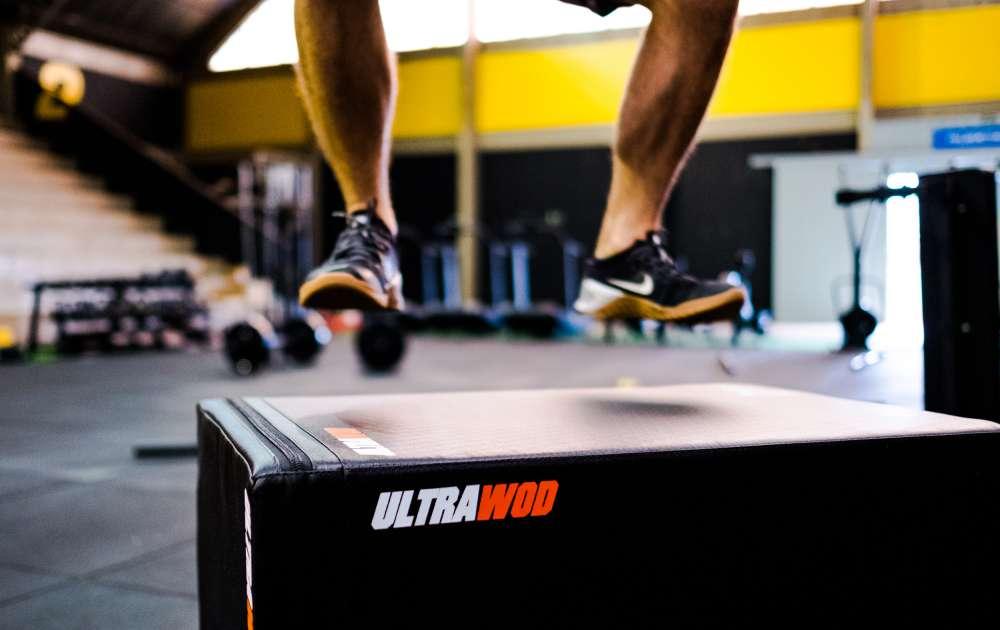 Plyo Box Acolchoada UltraWod  - ULTRAWOD