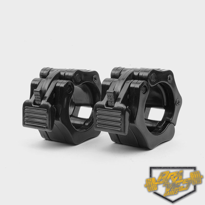 Presilha para Anilha CrossFit Lock Jaw  - X-Training Equipment Braves Games