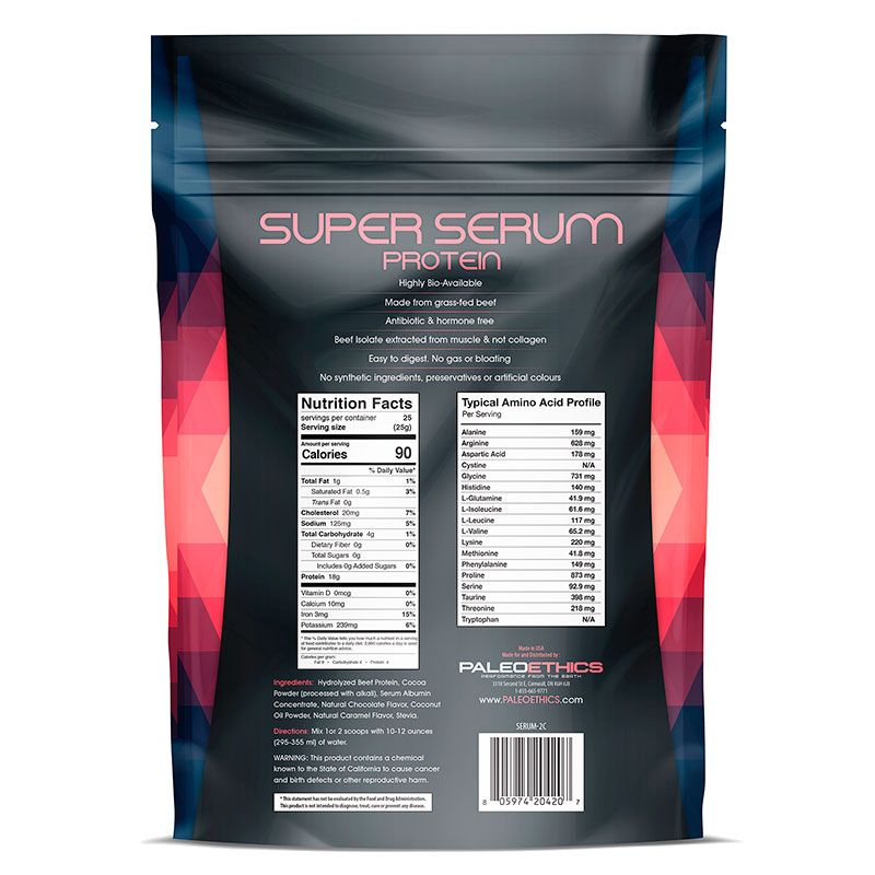 PROTEÍNA SUPER SERUM CHOCOLATE  - ULTRAWOD