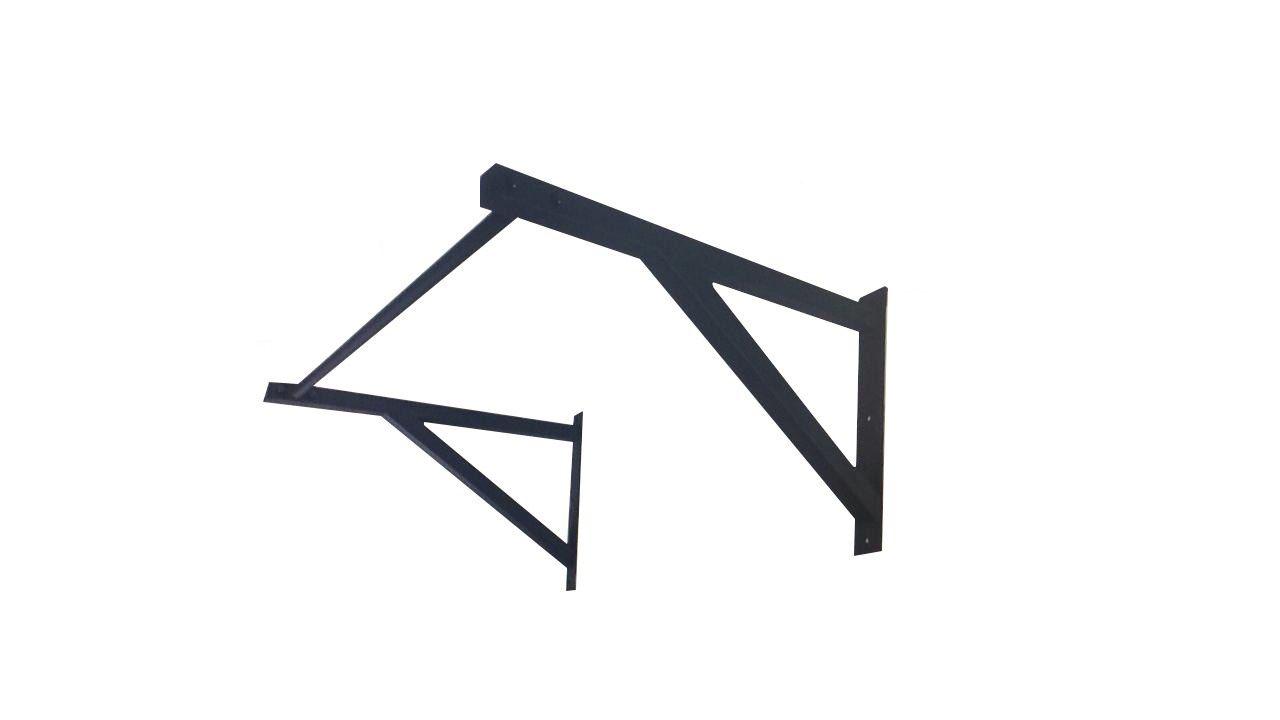 Rack Rig Gaiola Pullup de Parede para Treino Crossfit Homebox