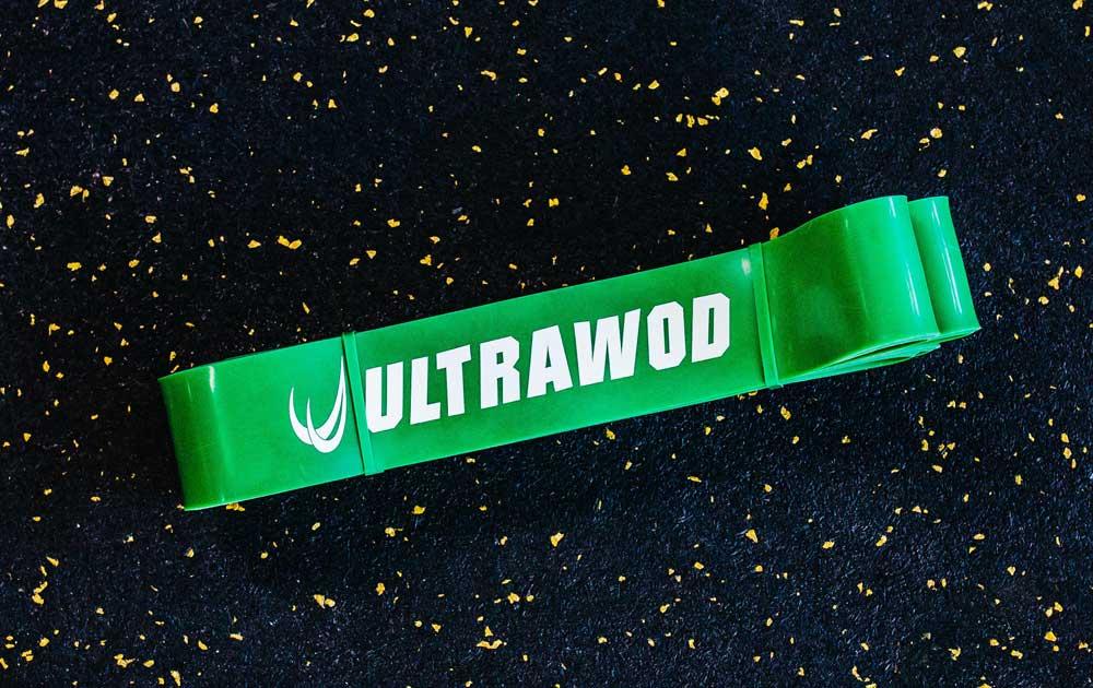 Strength Band UltraWod 44mm Verde  - ULTRAWOD