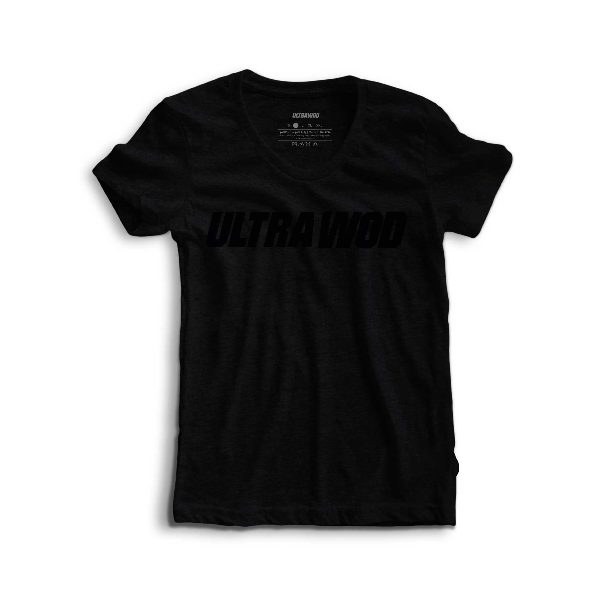 Camiseta Feminina All Black UltraWod