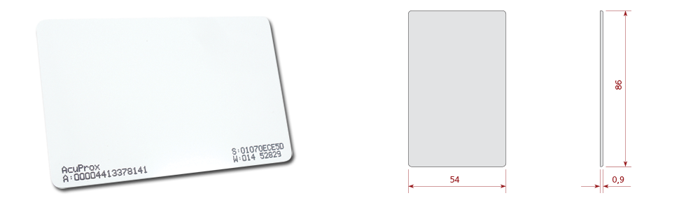 100 Cartões Acuprox ISO