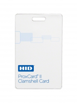 100 Cartões HID Proxcard II Wiegand Clamshell