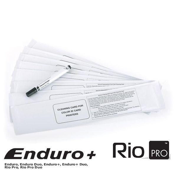 Kit 300 pvc branco + 1 EN1 + Kit de limpeza