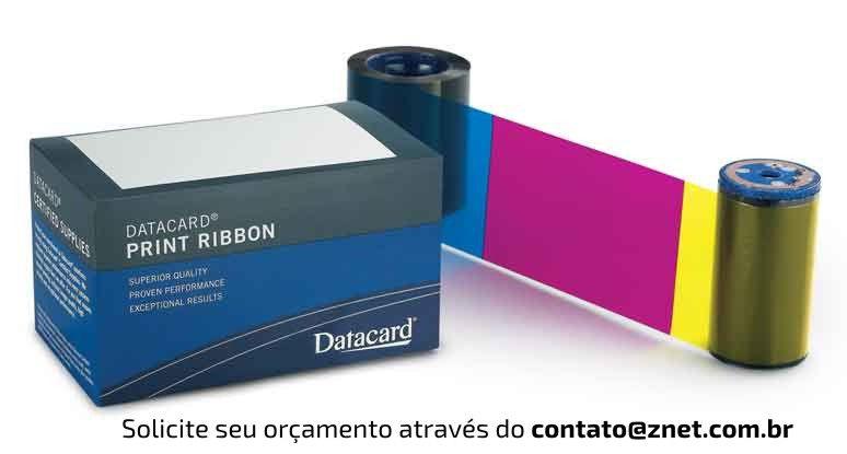 Ribbon Datacard CD YMCKT 500 impressões Reg