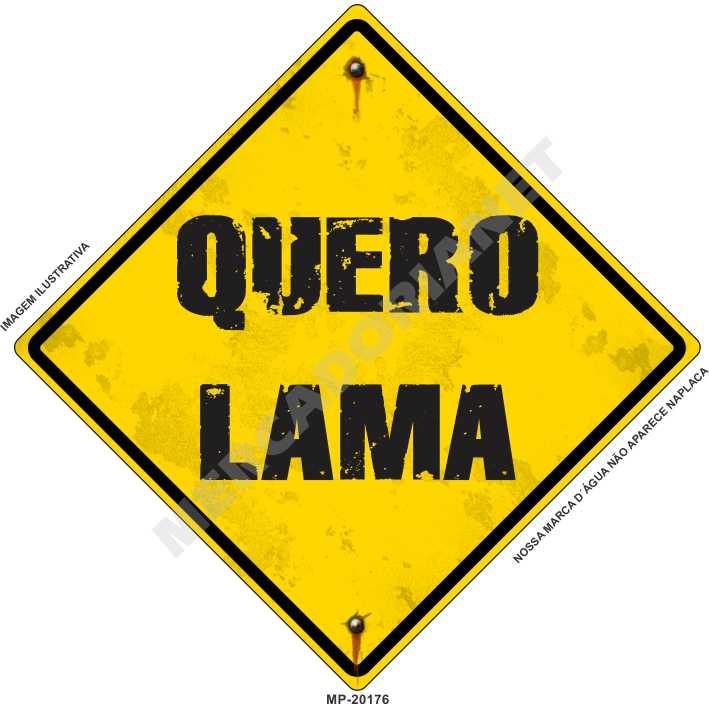 ADESIVO OFF-ROAD QUERO LAMA M-UP20176