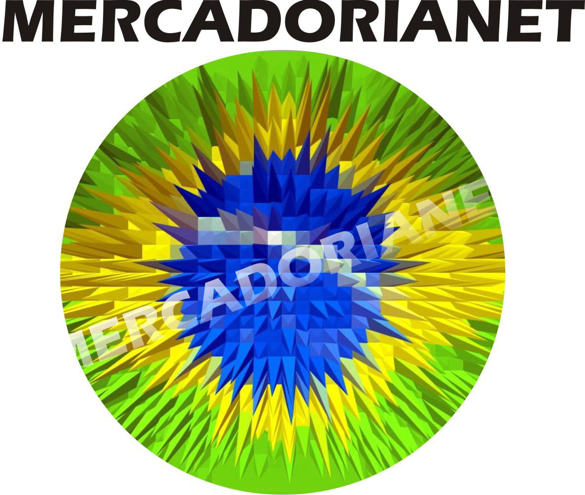 Capa Estepe Bandeira Brasil M-06
