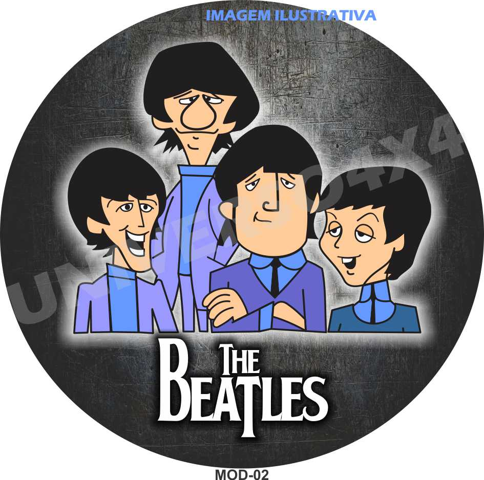 Capa Estepe Beatles M-02
