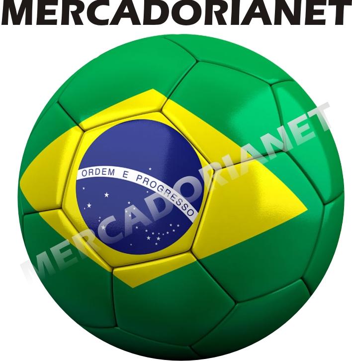 Capa Estepe Bola Bandeira Brasil
