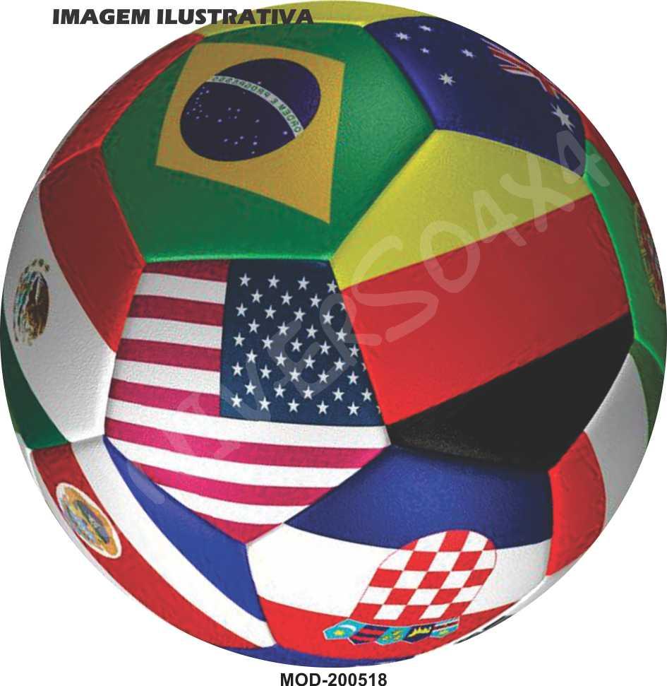 Capa Estepe Bola Copa do Mundo M-200518