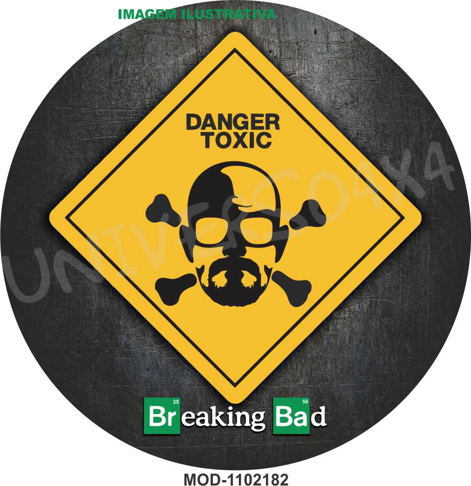 Capa Estepe Breaking Bad Heisenberg M-1102182
