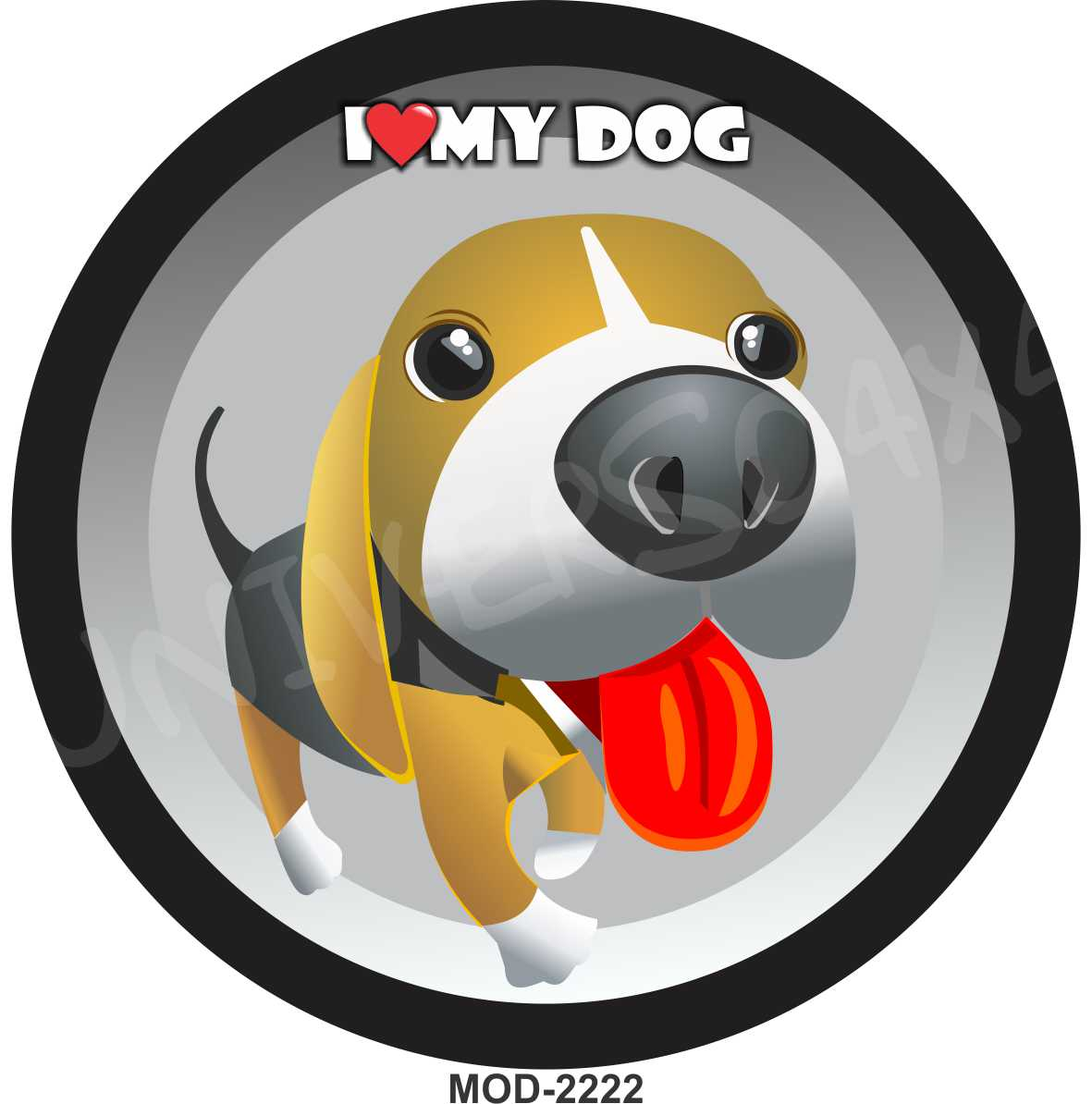 Capa Estepe Cachorro I Love My Dog M-2222