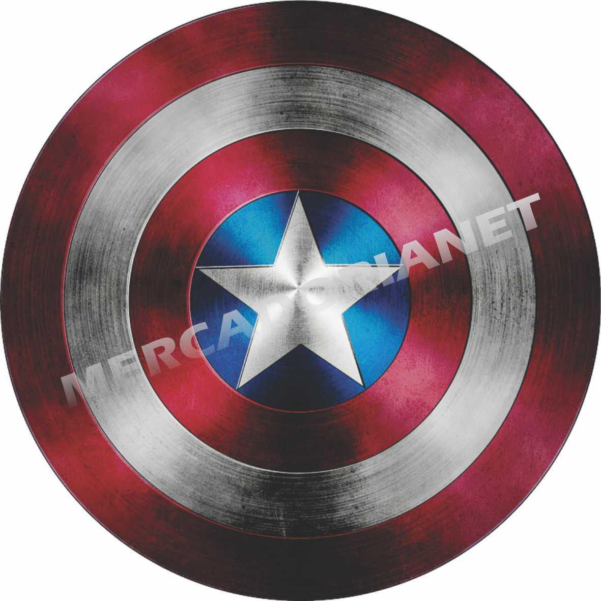 Capa Estepe Capitão América Escudo M-44