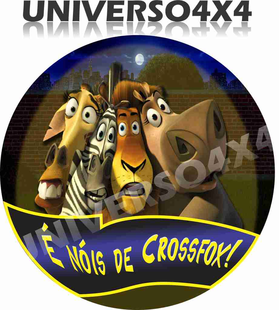 Capa Estepe Crossfox Madagascar M-01