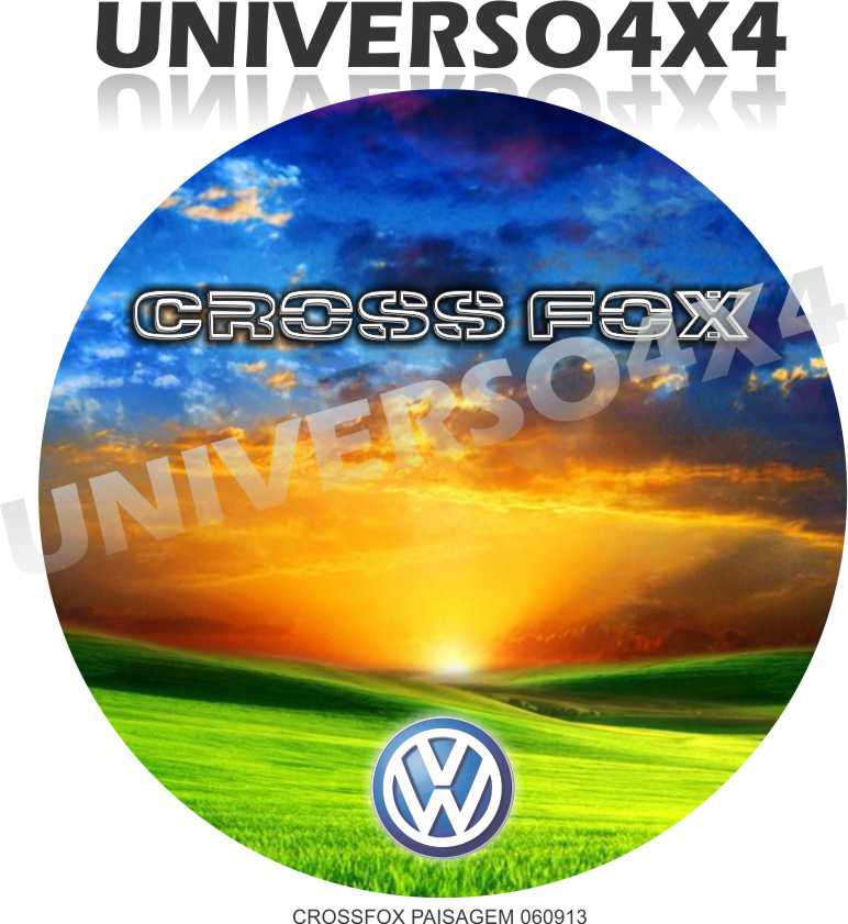 Capa Estepe Crossfox Paisagem M-060913