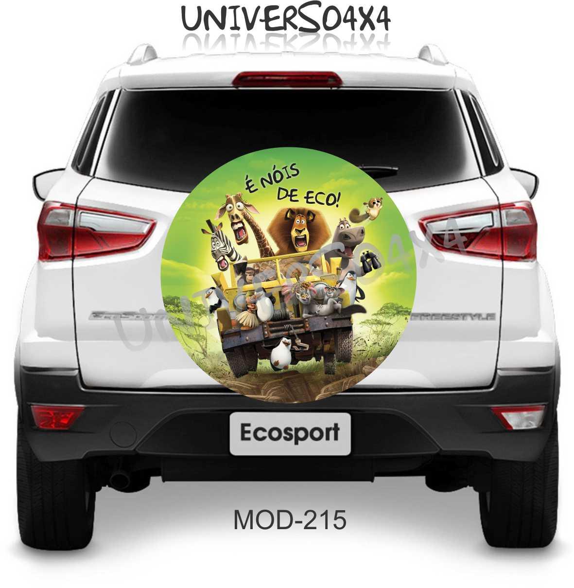 Capa Estepe Ecosport Madagascar M-215