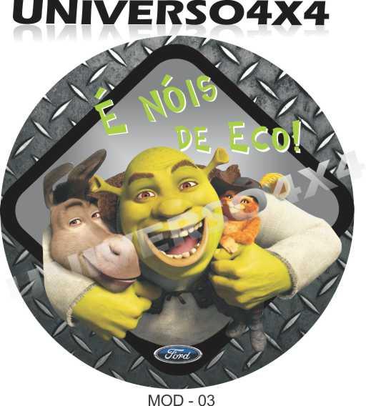 Capa Estepe Eco Shrek M-03