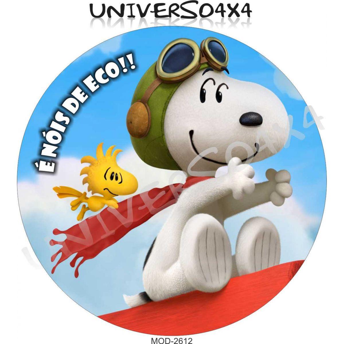 Capa Estepe Ecosport Snoopy M-2612