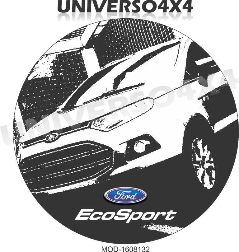 Capa Estepe Ecosport M-1608132