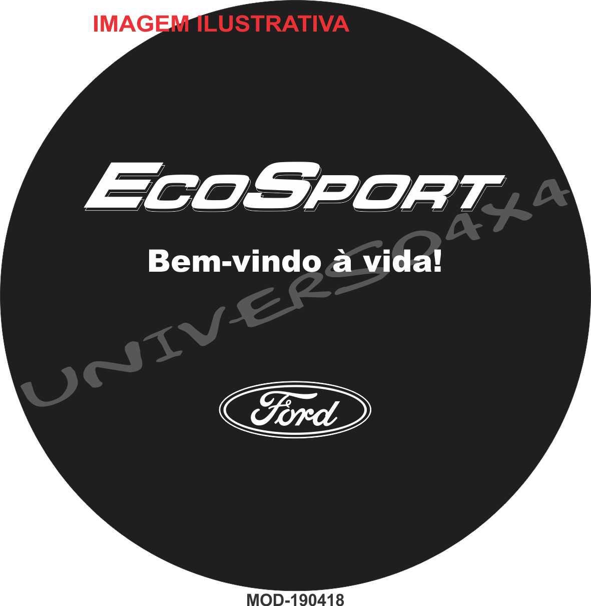 Capa Estepe Ecosport Bem Vindo à Vida M-190418