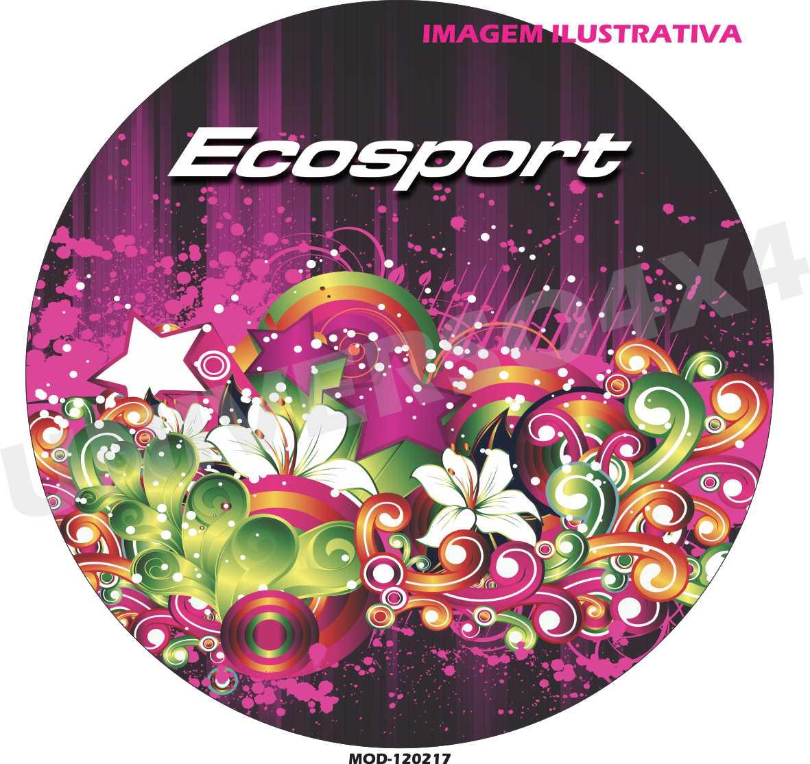 Capa Estepe Ecosport Floral M-120217