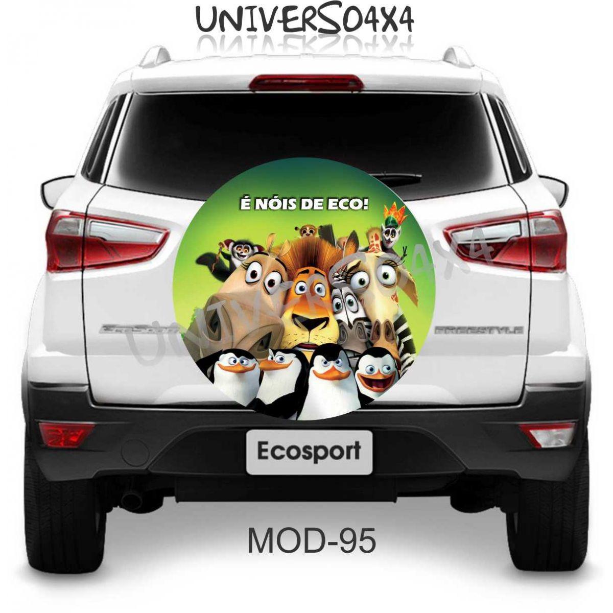 Capa Estepe Ecosport Madagacar M-95