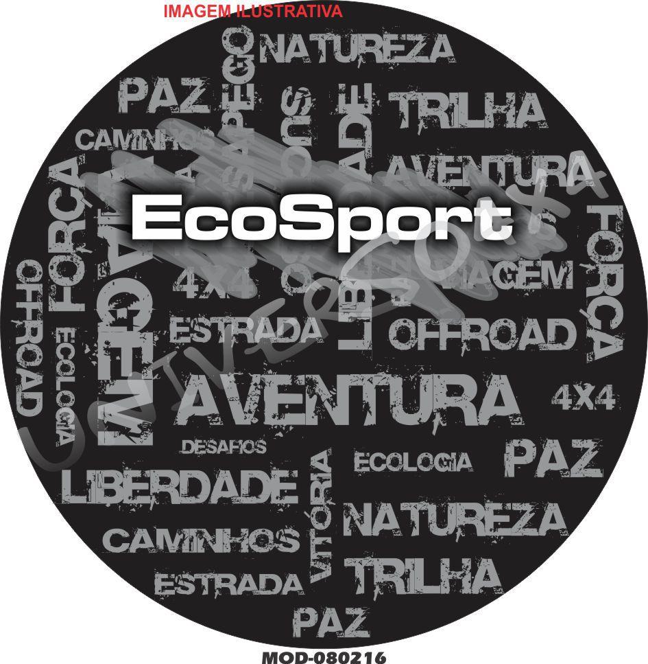 Capa Estepe Ecosport Palavras M-080218
