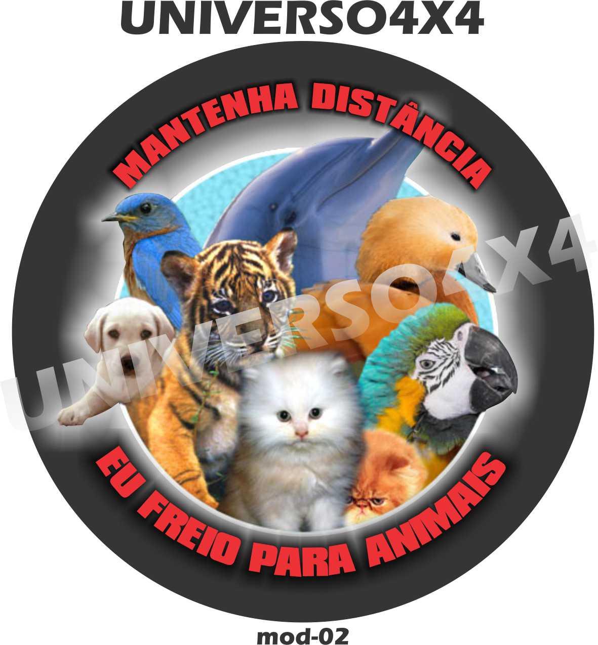 Capa Estepe Eu Freio para Animais Distância M-020221