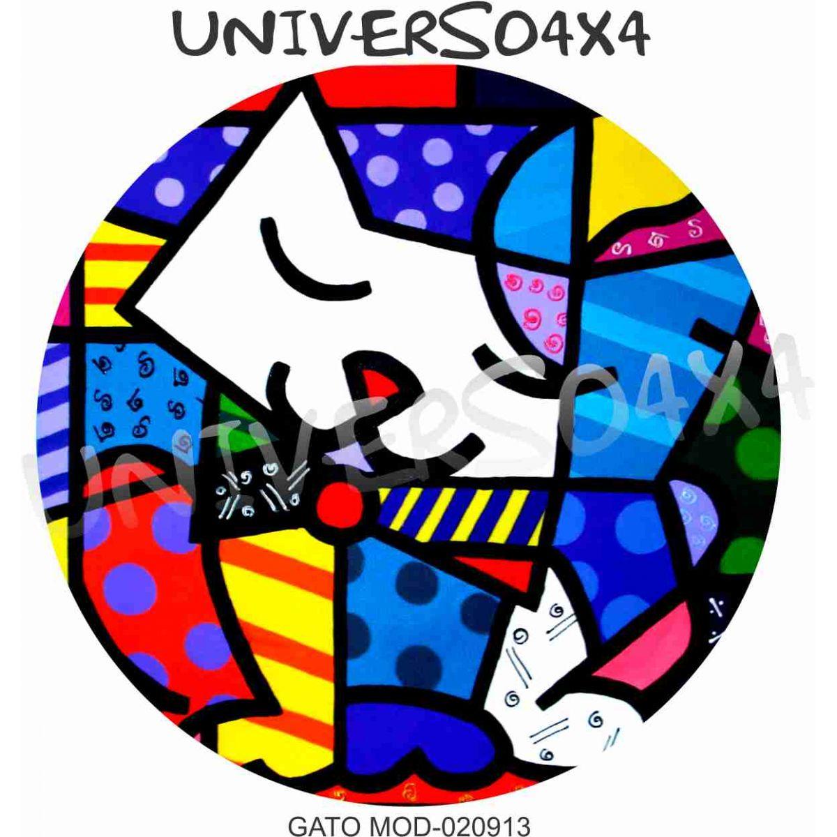 Capa Estepe Personalizada Gato Romero B (RELEITURA) M-020913