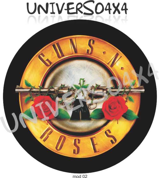 Capa Estepe Guns ´N Roses M-02