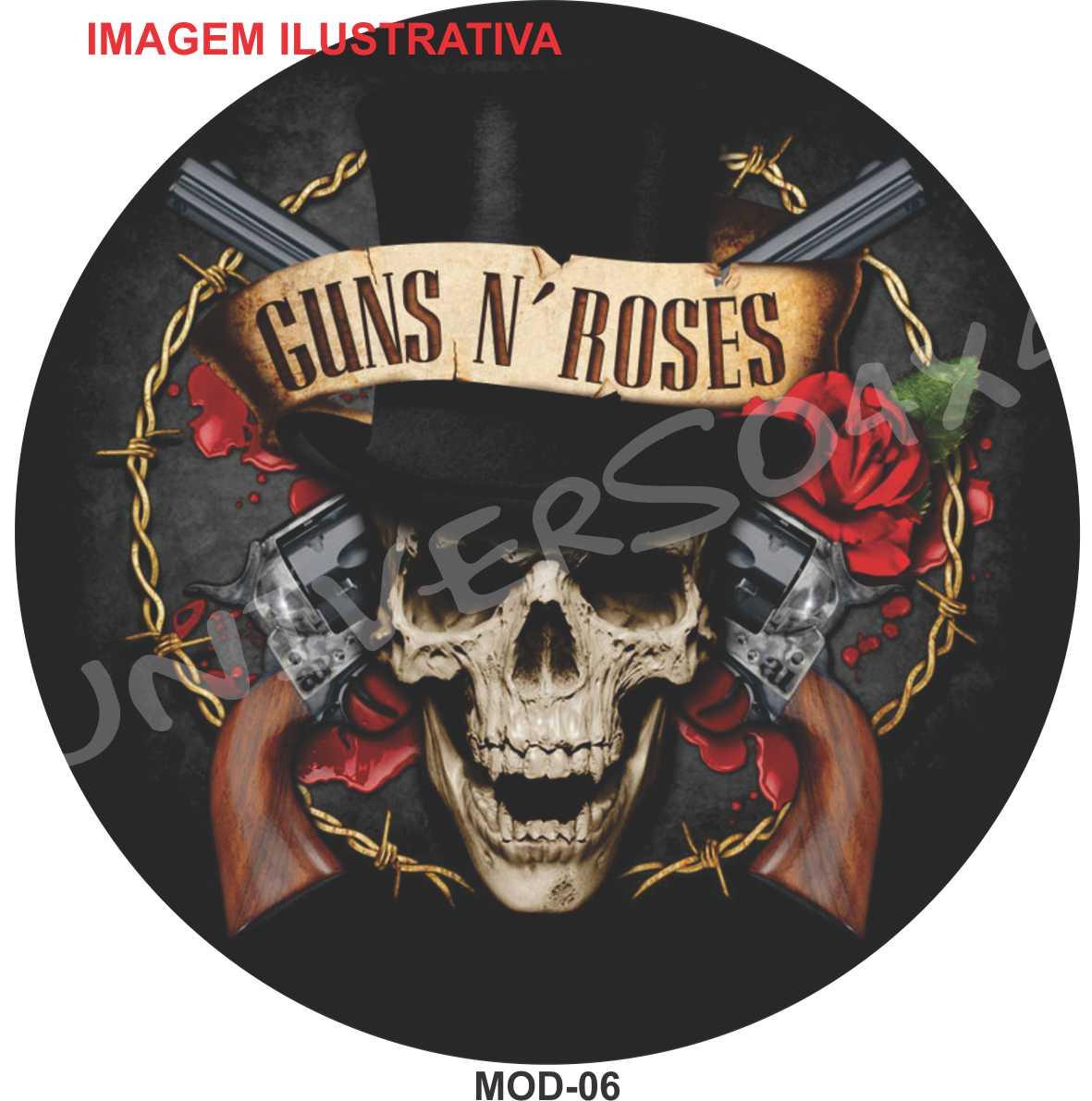 Capa Estepe Guns ´N Roses M-06