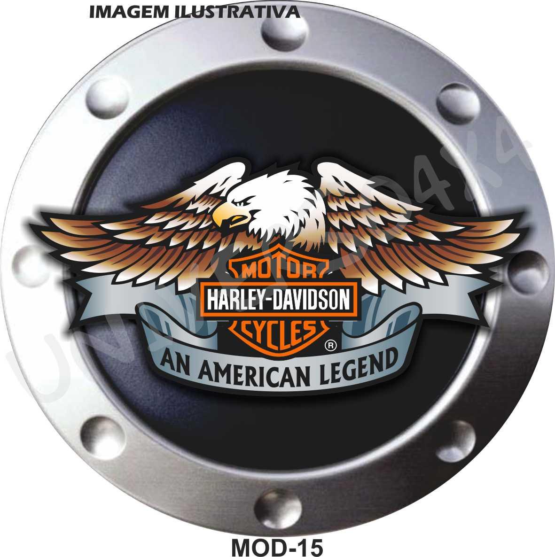 Capa Estepe Harley Davidson Águia M-15