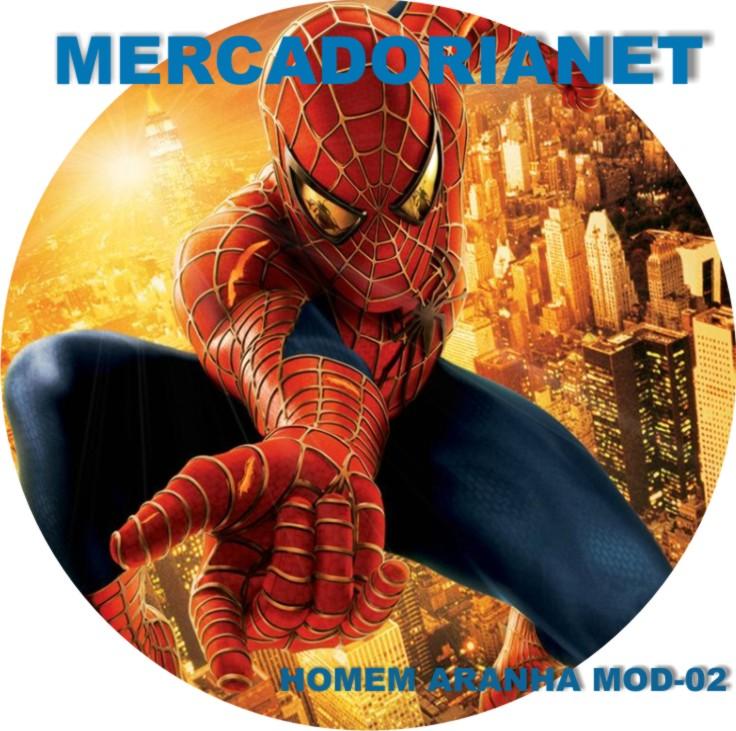 Capa Estepe Homem Aranha M-02